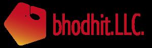 bhodhitロゴ 横長文字入り透過版(大)