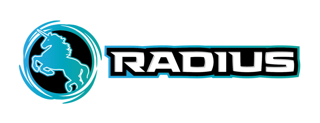 RADIUS ロゴ 横長